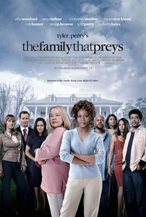 Tyler Perry's - The Family That Preys  Movie DVD